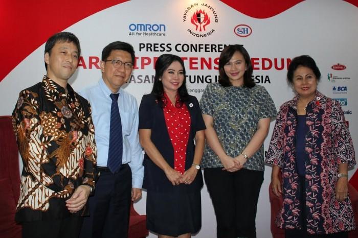 Yayasan Jantung Gandeng Omron Healthcare Peringati Hari Hipertensi
