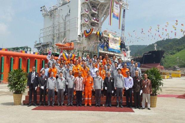 Lapangan Jangkrik Kirim Kargo LNG Pertama Ke Bali