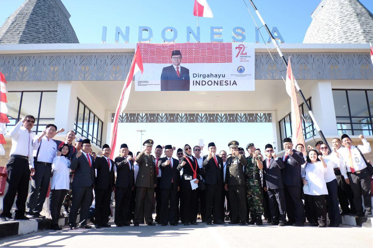 PLN Meriahkan Peringatan HUT Kemerdekaan di Perbatasan
