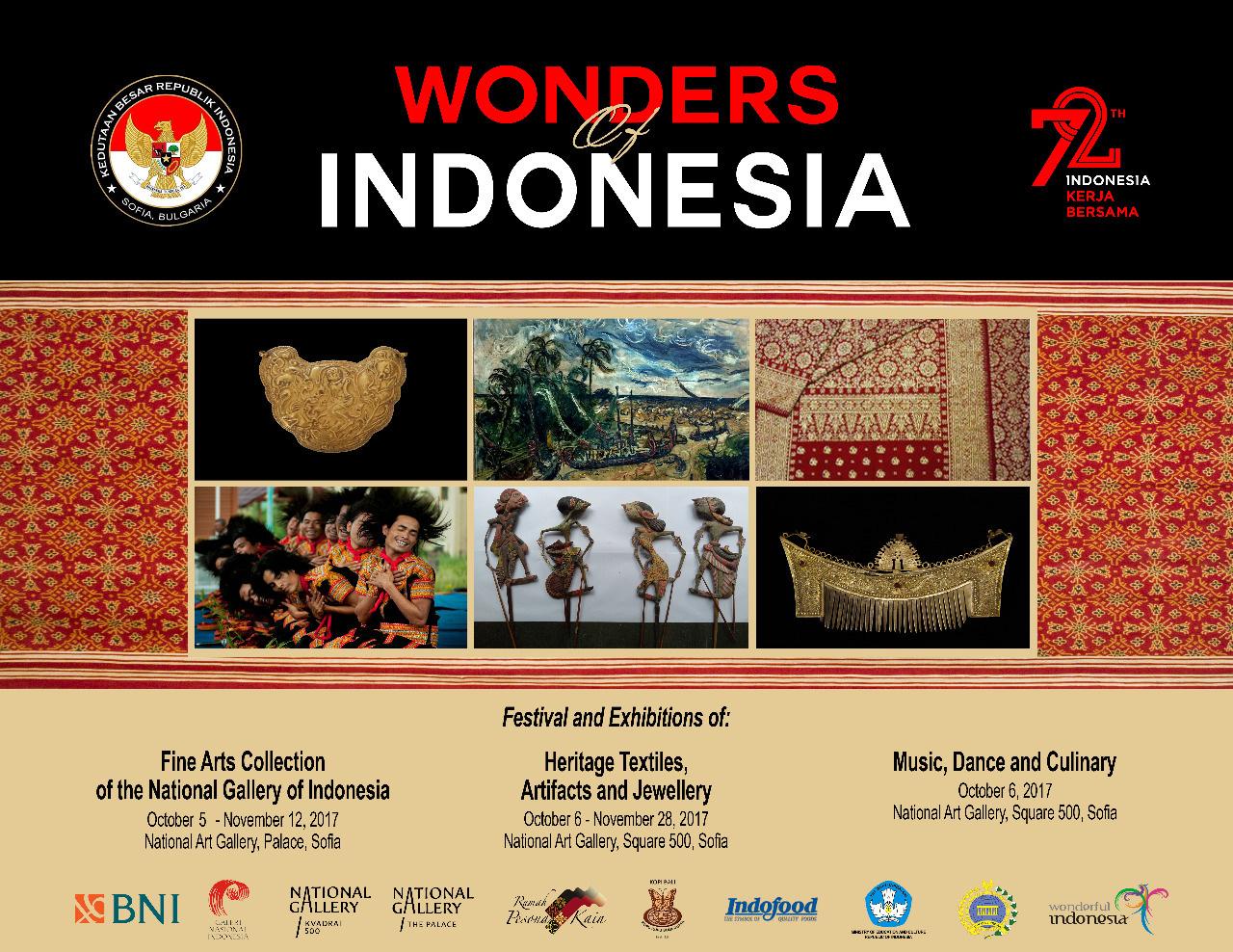 Indonesia Gelar Pameran Seni Rupa di Belgia