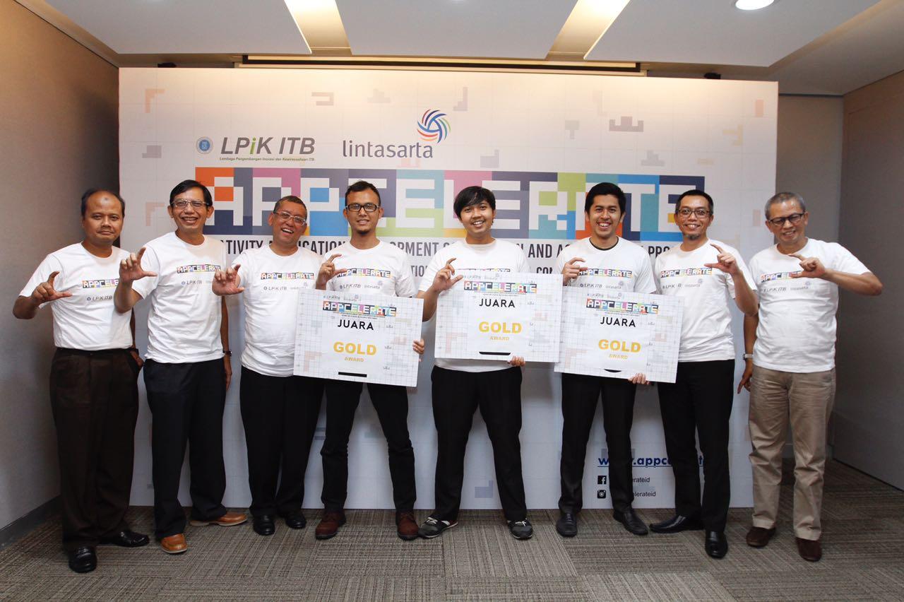 Lintasarta Umumkan Startup Pemenang Appcelerate 2017