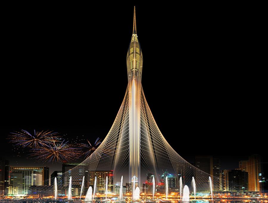 The Creek Harbour Tower akan Gantikan Burj Khalifa sebagai Gedung Tertinggi Dunia