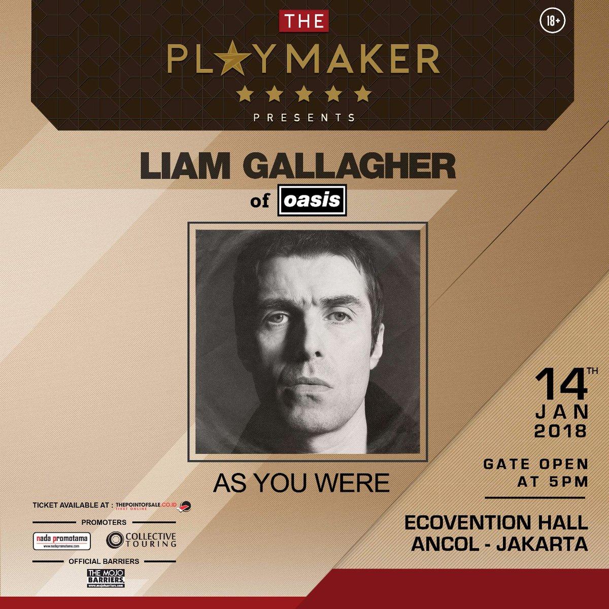 Liam Gallagher Live di Jakarta