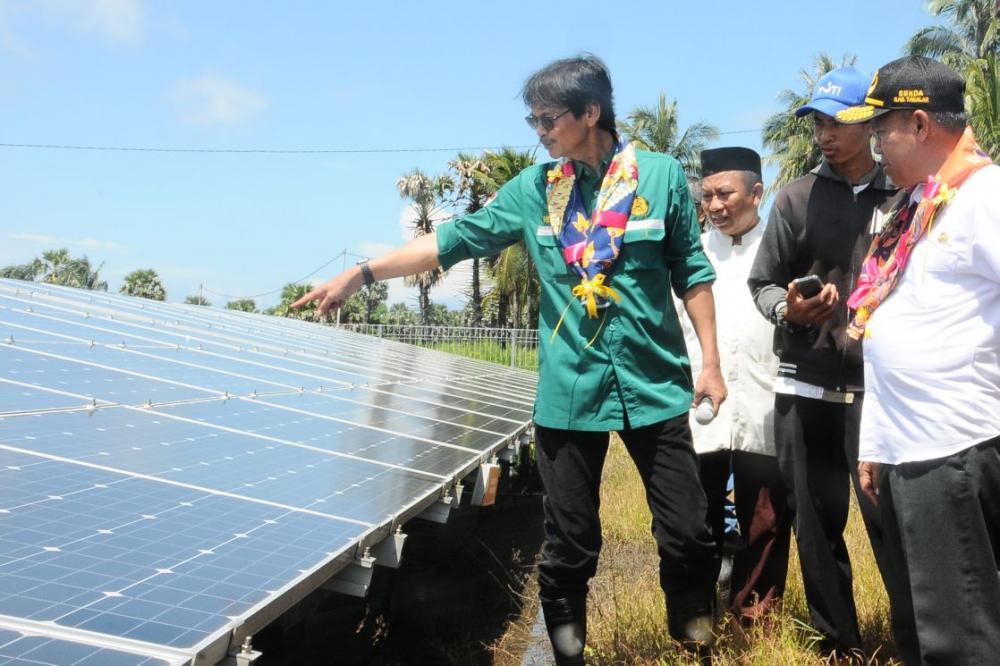 Tambah Satu Lagi PLTS di Sulawesi Selatan