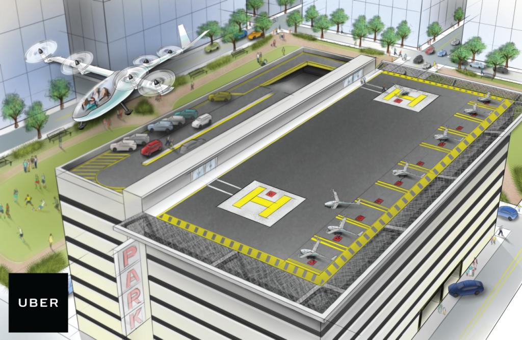 Uber akan Siapkan Mobil Terbang