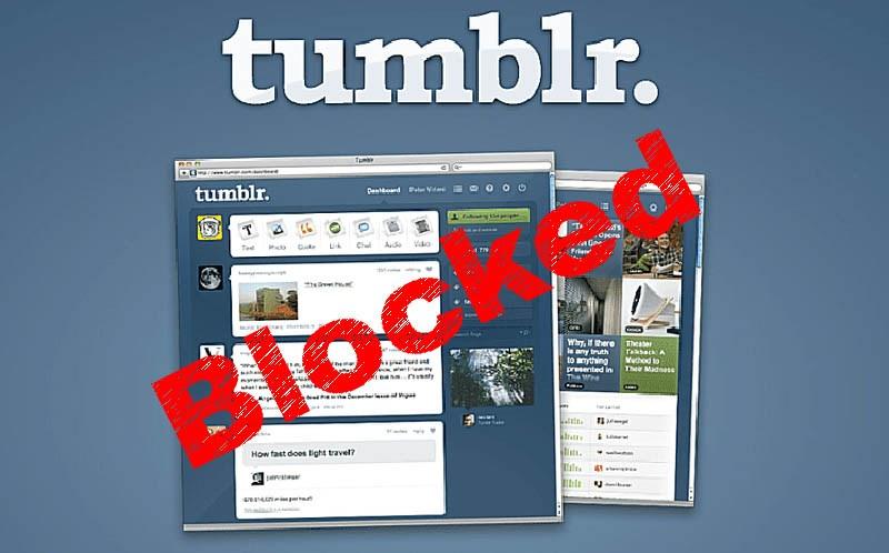Kominfo Blokir Tumblr karena Adanya Konten Negatif