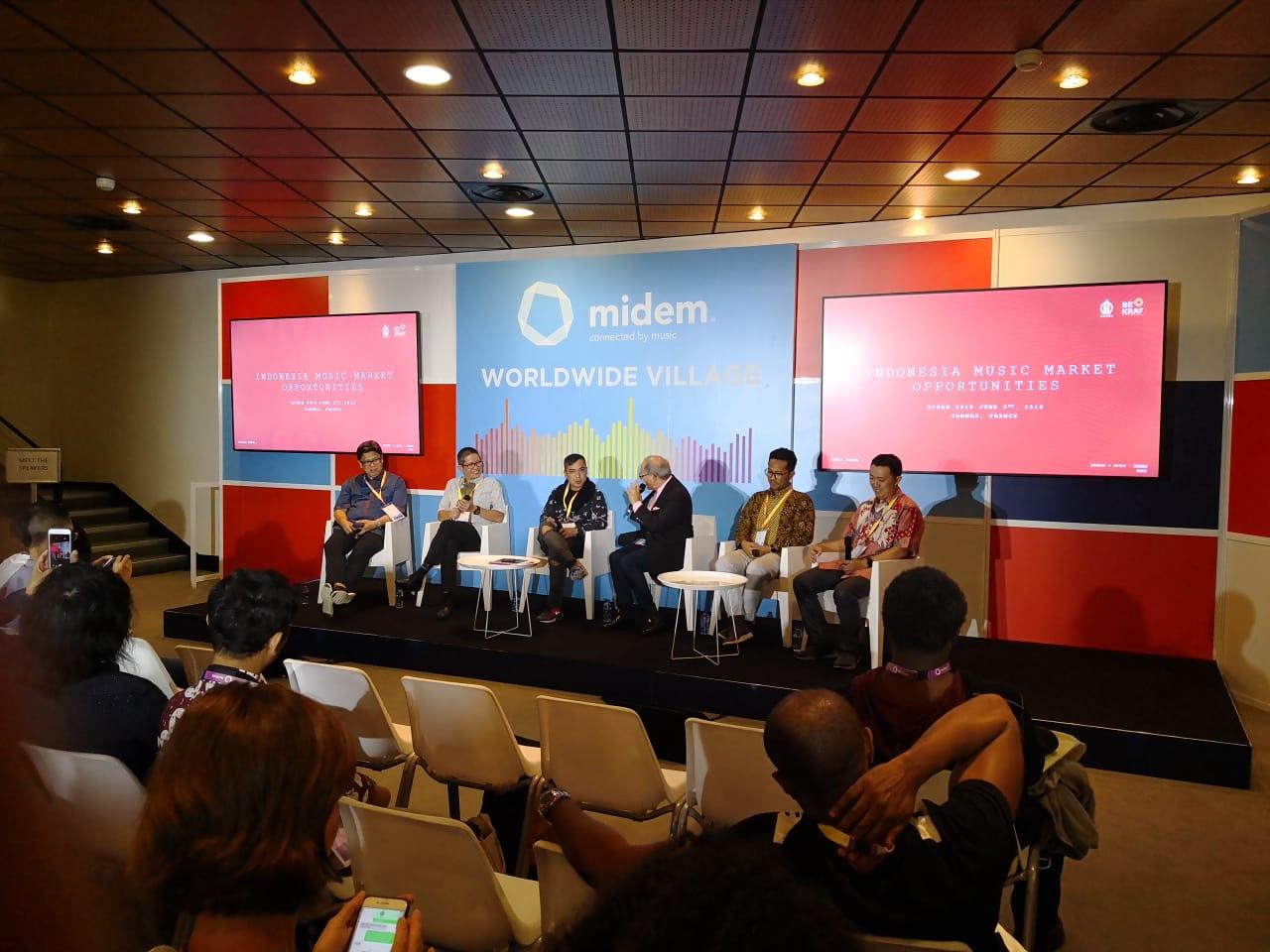 Antusiasme Pengunjung MIDEM 2018 Terhadap Tiga Startup Delegasi Indonesia