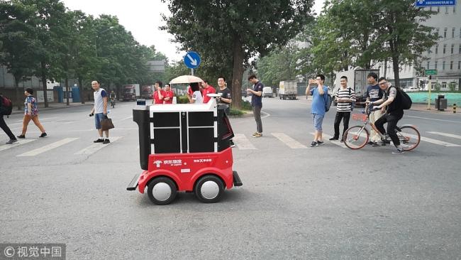JD.com Luncurkan Robot Pengirim Paket