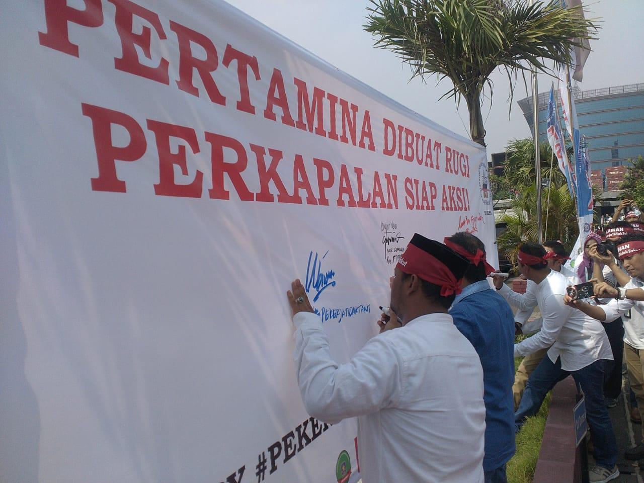 Aksi Simpatik SP FKPPA untuk Pertagas