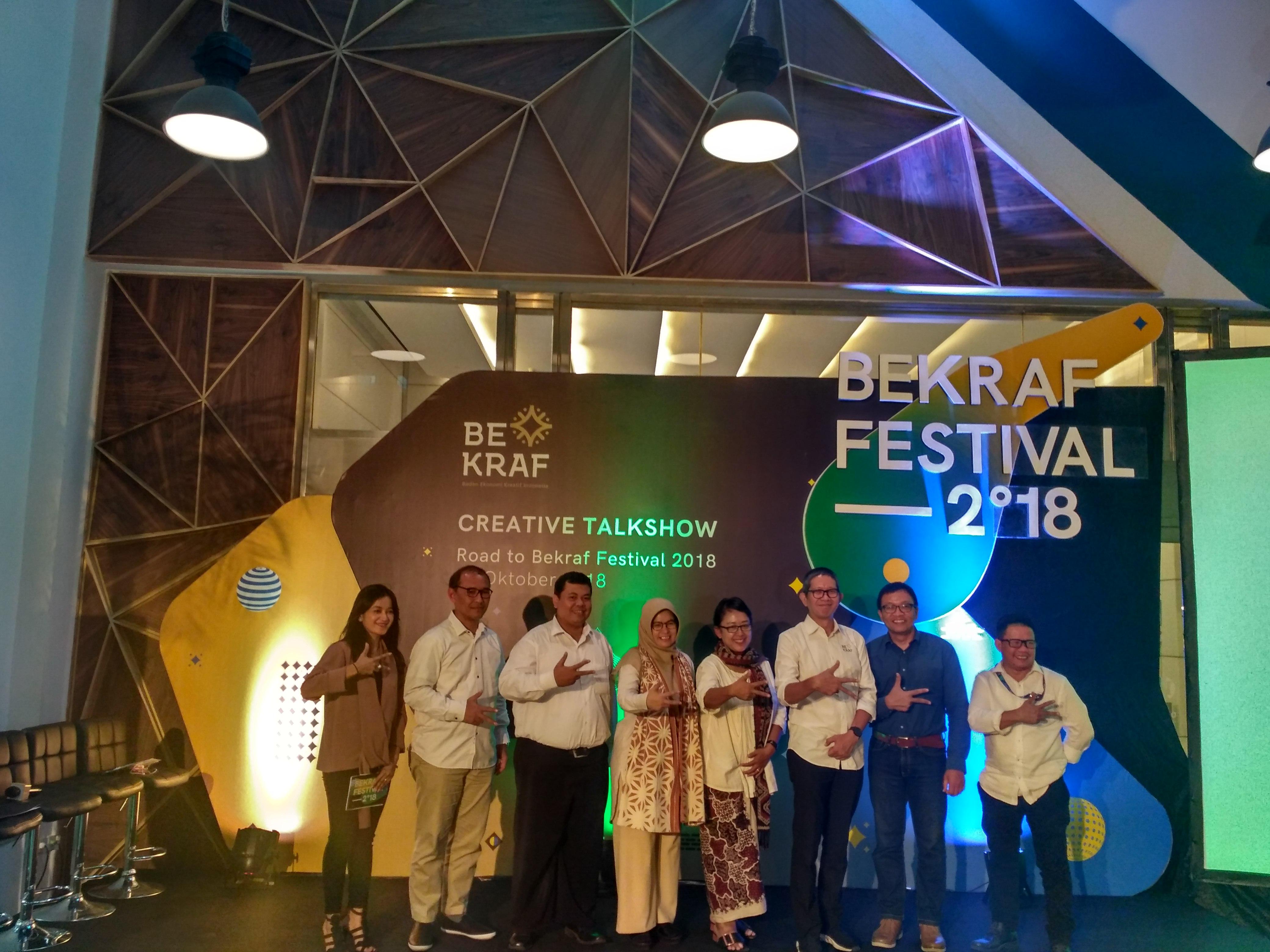 Bekraf Festival 2018 akan Digelar di Surabaya