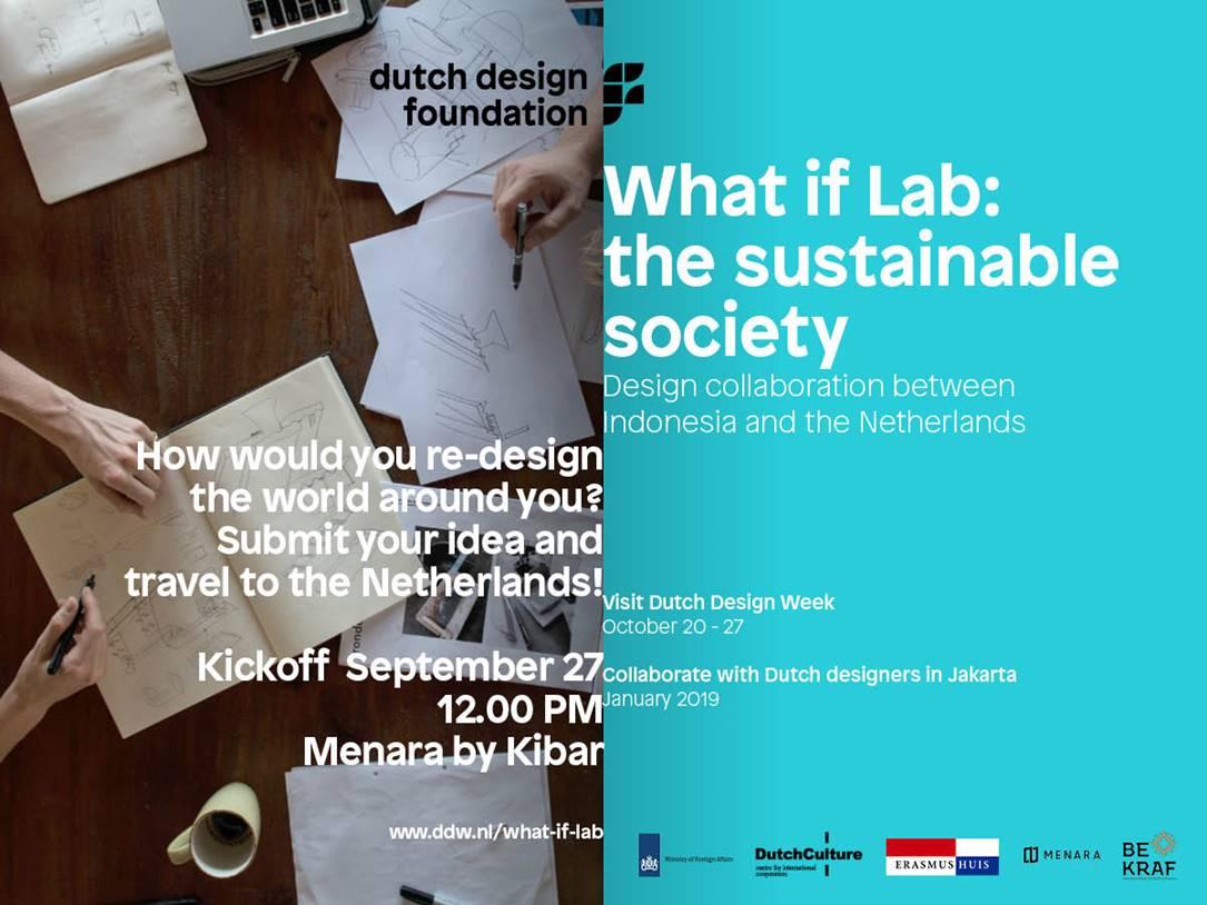 Bekraf dan Kedubes Belanda GelarDutch Design Week