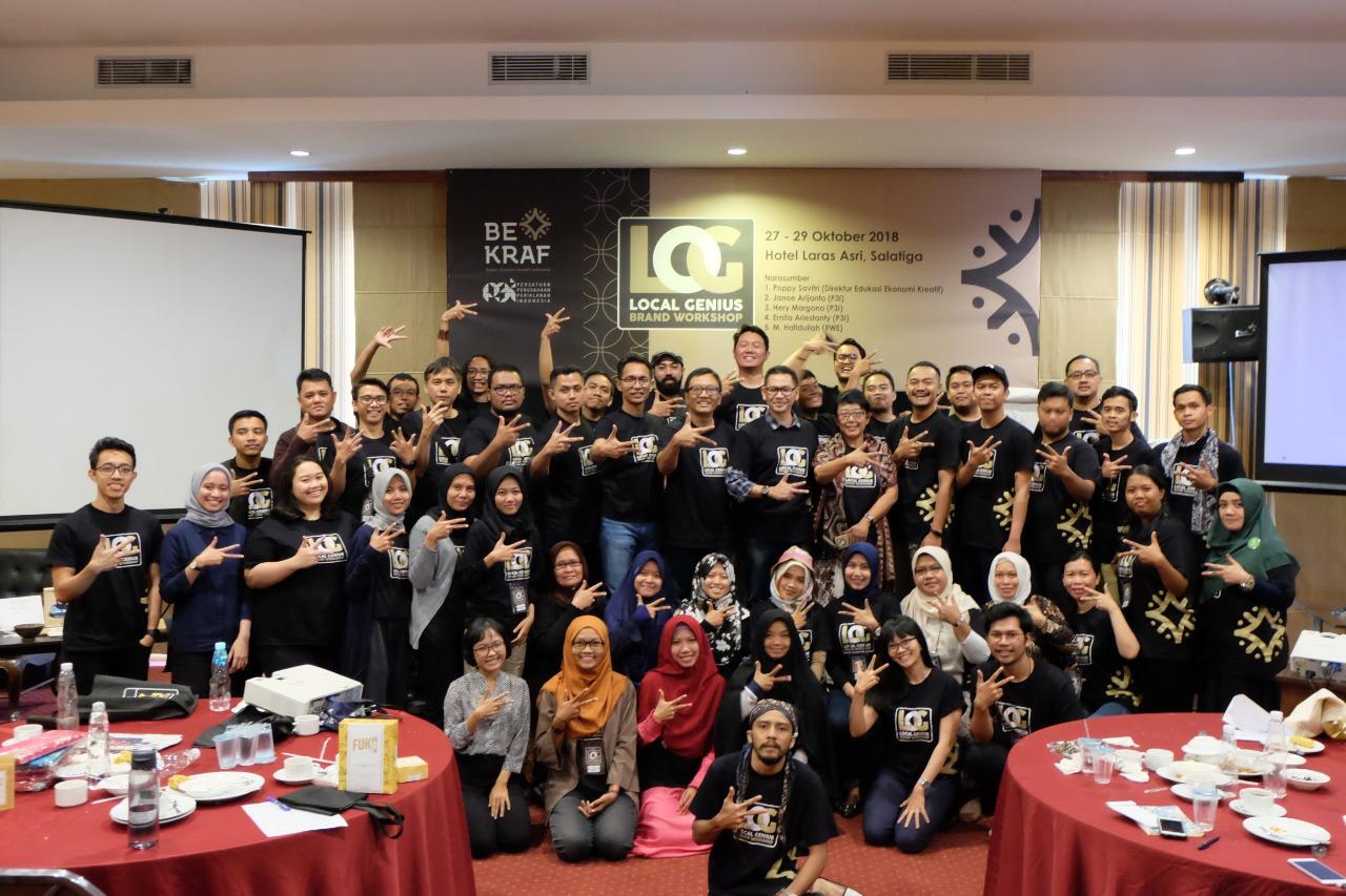 Bekraf Gelar Workshop Pengembangan Merek Lokal