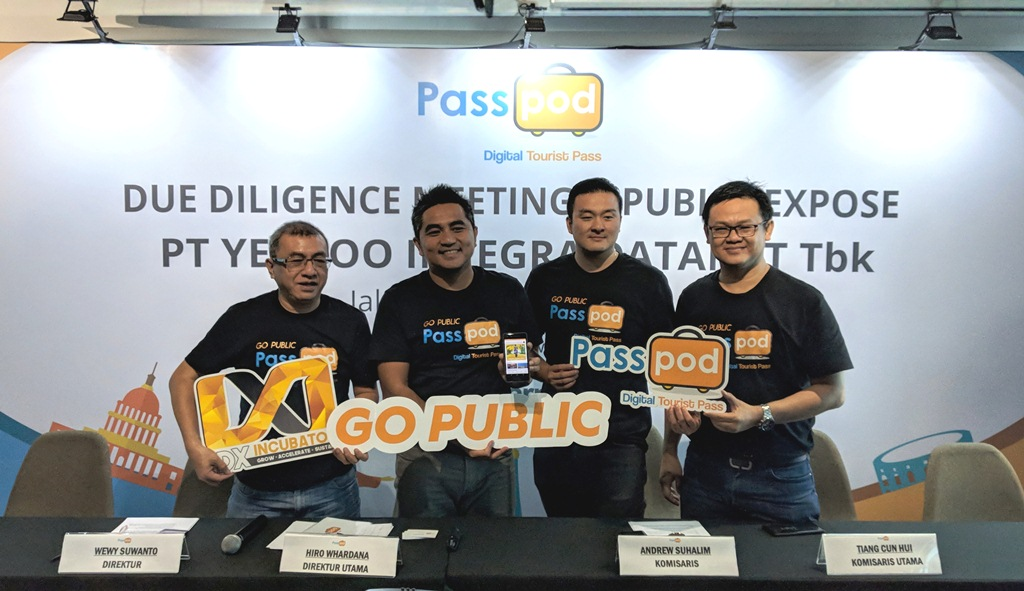 Startup Passpod Menargetkan IPO akan Peroleh US$2,6 Juta