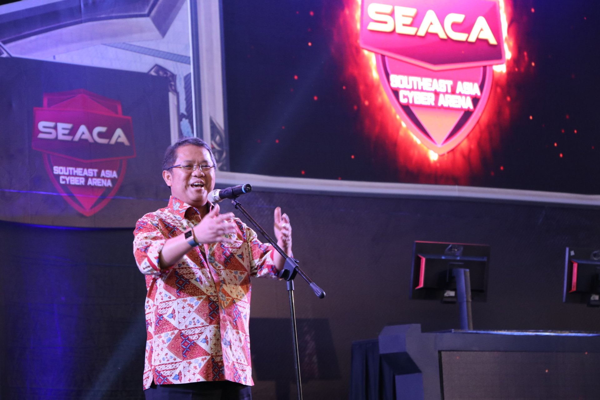 Menkominfo Berharap Turnamen SEACA Lahirkan Atlet ESports Baru