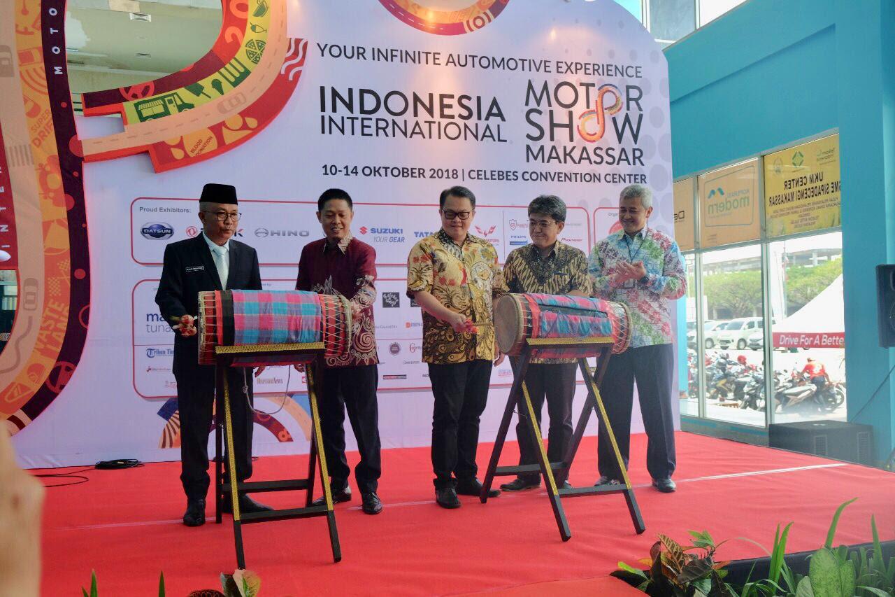 IIMS Makassar Hadirkan Motor Presiden Jokowi
