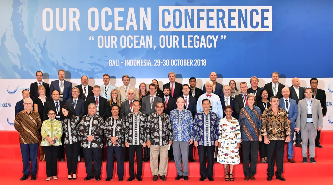 Event Our Ocean Conference 2018 Buktikan Indonesia Peduli Isu Kelautan