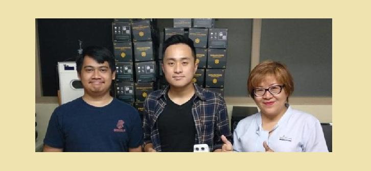 Mahasiswa BINUS Ciptakan Sonar Vision Alat Bantu untuk Tuna Netra