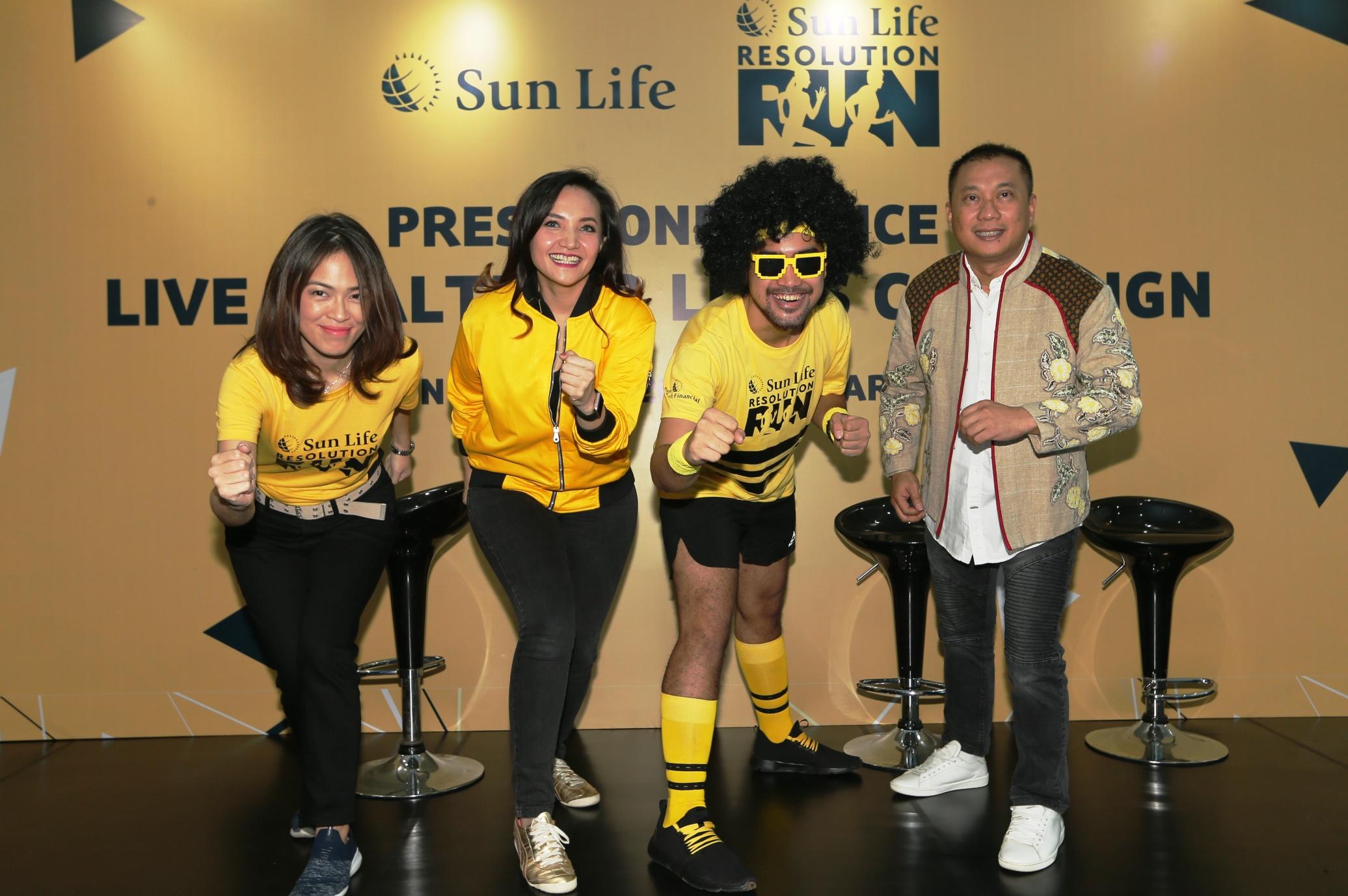'Sun Life Resolution Run 2019' Peringati Hari Diabetes Sedunia