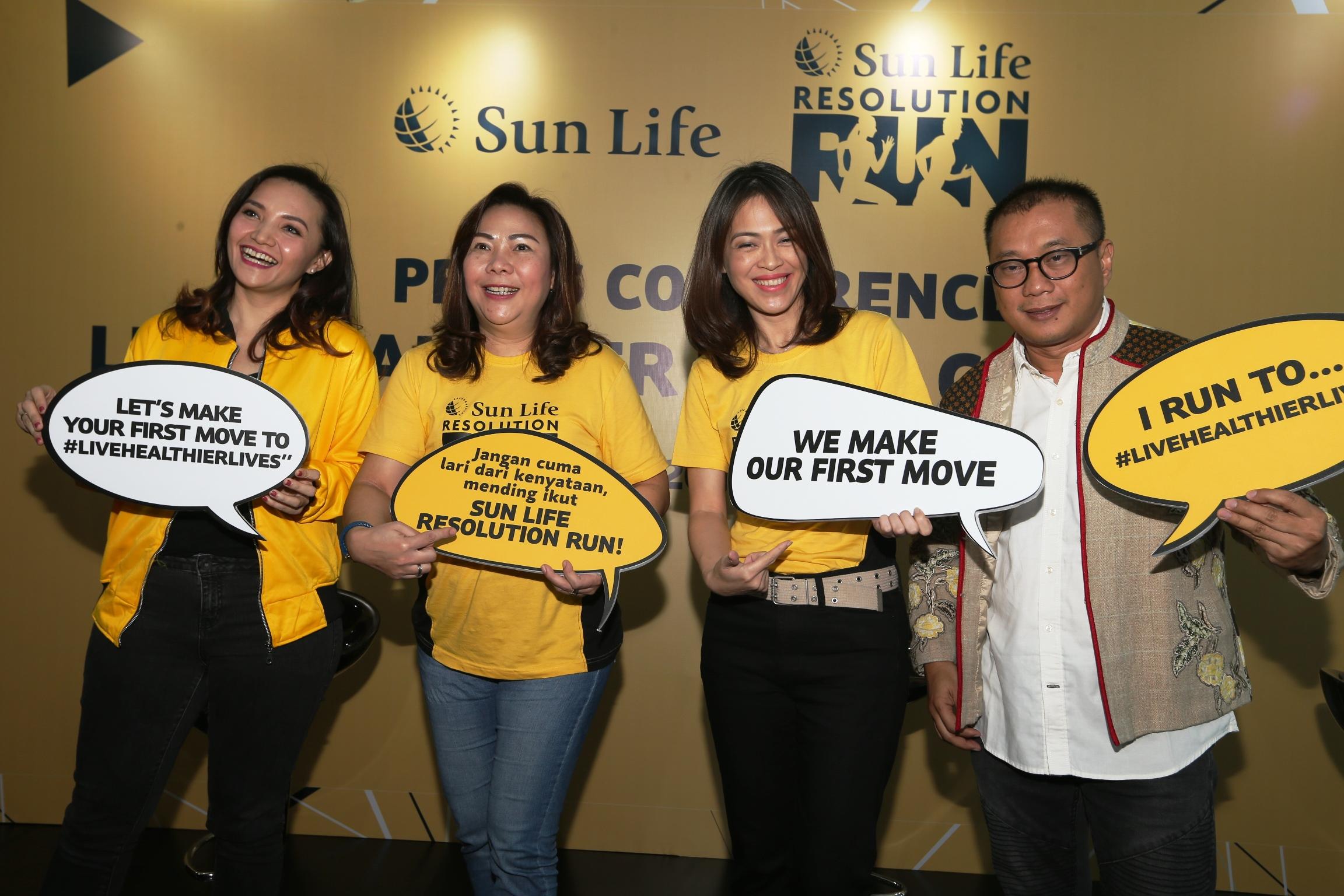 Sun Life Kampanye Live Healthier Lives