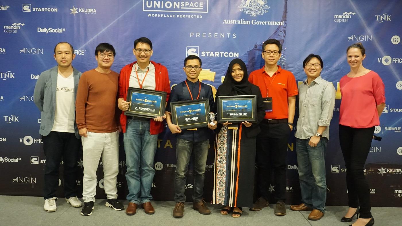 Tiga Startup Indonesia ke Babak Final Kompetisi StartCon di Australia