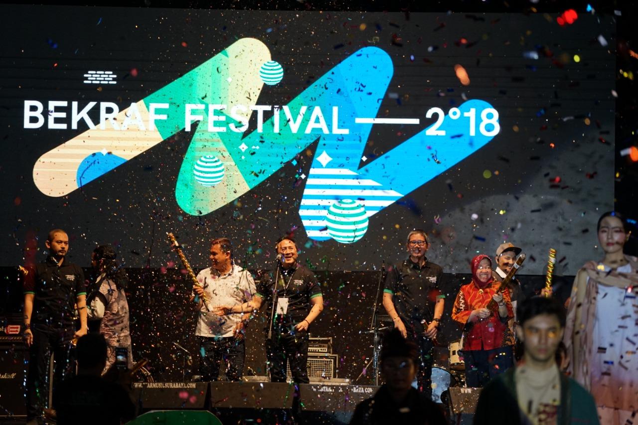 Bekraf Hadirkan 45 Program Unggulan di Bekraf Festival 2018 Surabaya