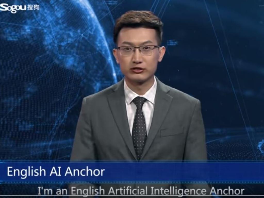 Robot si Pembaca Berita