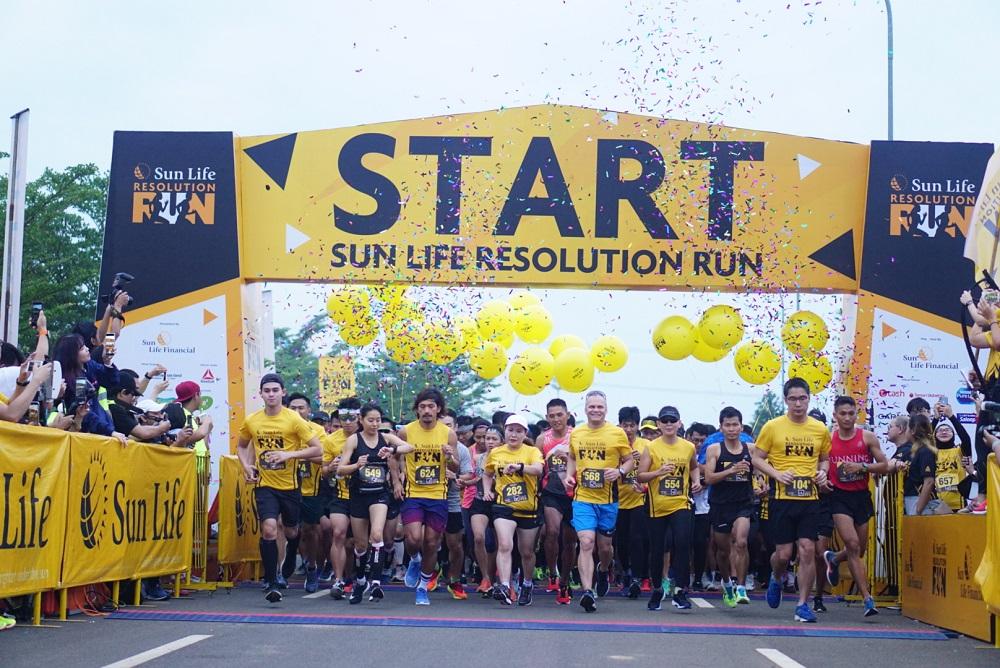 Sun Life Gelar Lari Sehat dan Berdonasi bagi Penderita Diabetes