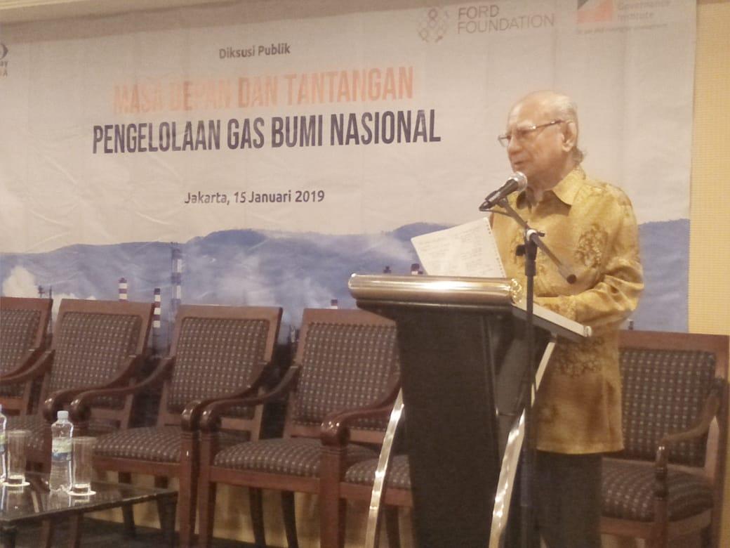 Emil Salim Desak Optimalisasi Gas Bumi untuk Kesejahteraan Masyarakat