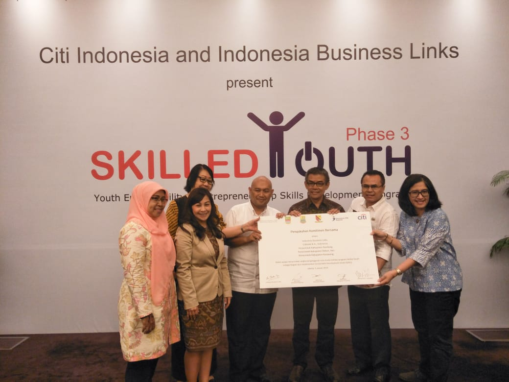 Citibank Lanjutkan Program Skilled Youth