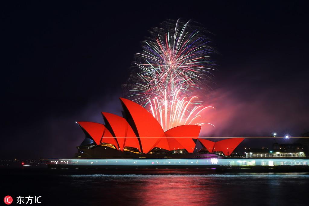 Perayaan Tahun Baru China di Seluruh Dunia