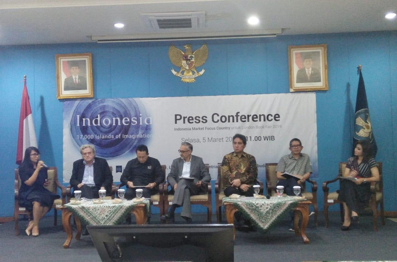 London Book Fair 2019 Jadi Ajang Perkenalan Produk Kreatif Indonesia