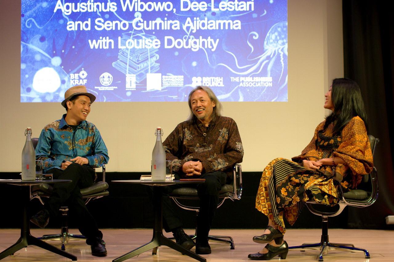 Tiga Penulis Indonesia Hadir di British Library London Book Fair 2019