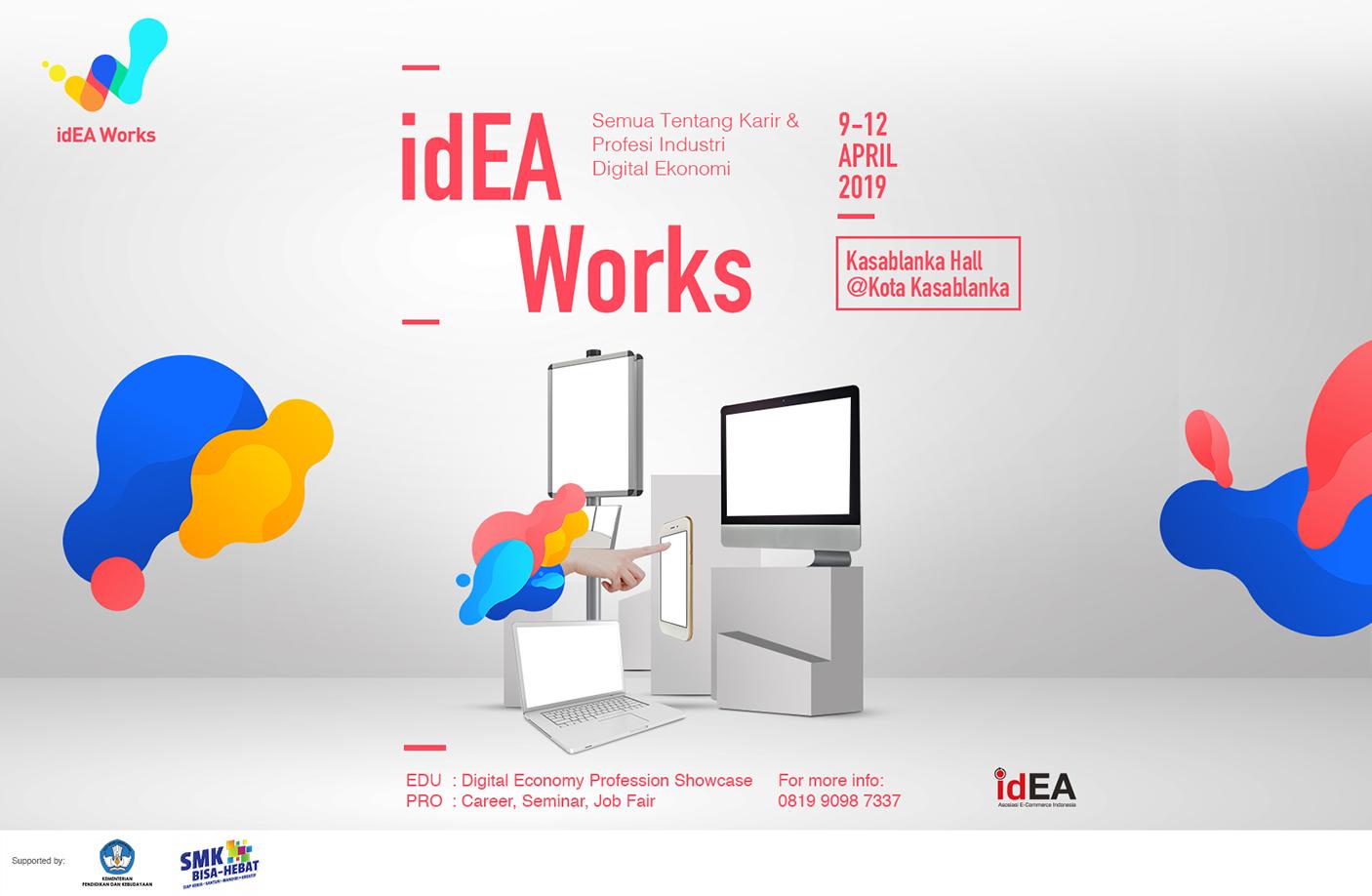 idEAWorks 2019 Ajang Persiapan Masuki Era Industri 4.0