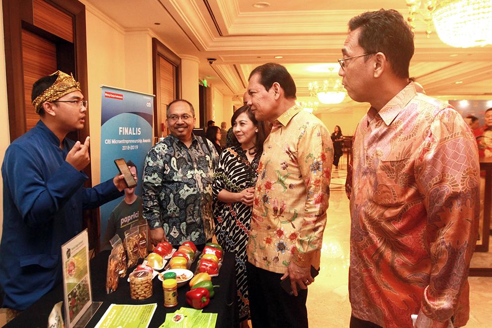 Citi Indonesia Umumkan Pemenang Wirausaha Mikro Terbaik