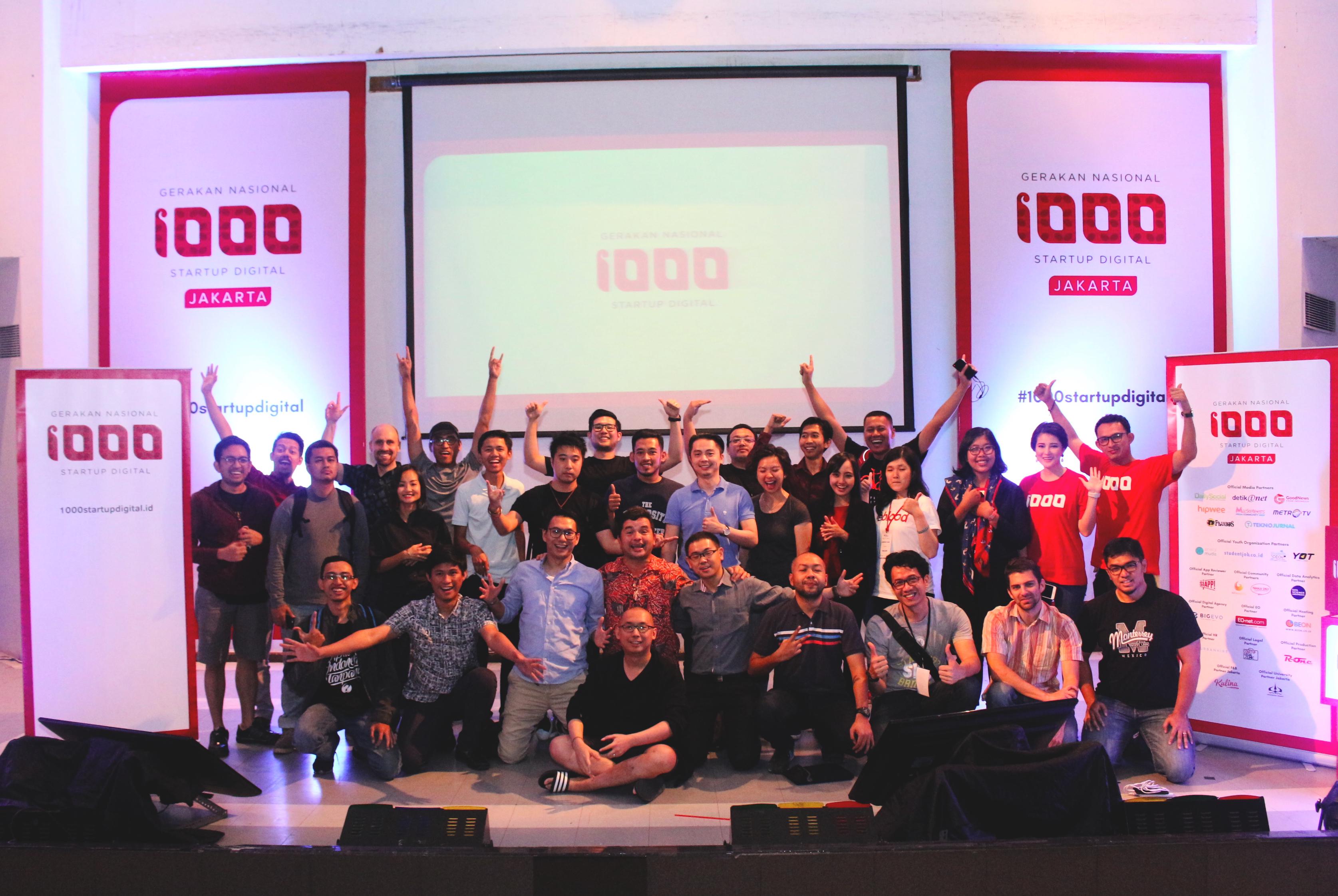 Gerakan 1001 Start Up untuk Jadikan RI sebagai Energi Digital Asia