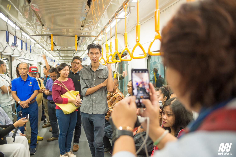 Tarif Normal, Pengguna Meningkat dan MRT Tingkatkan Pelayanan