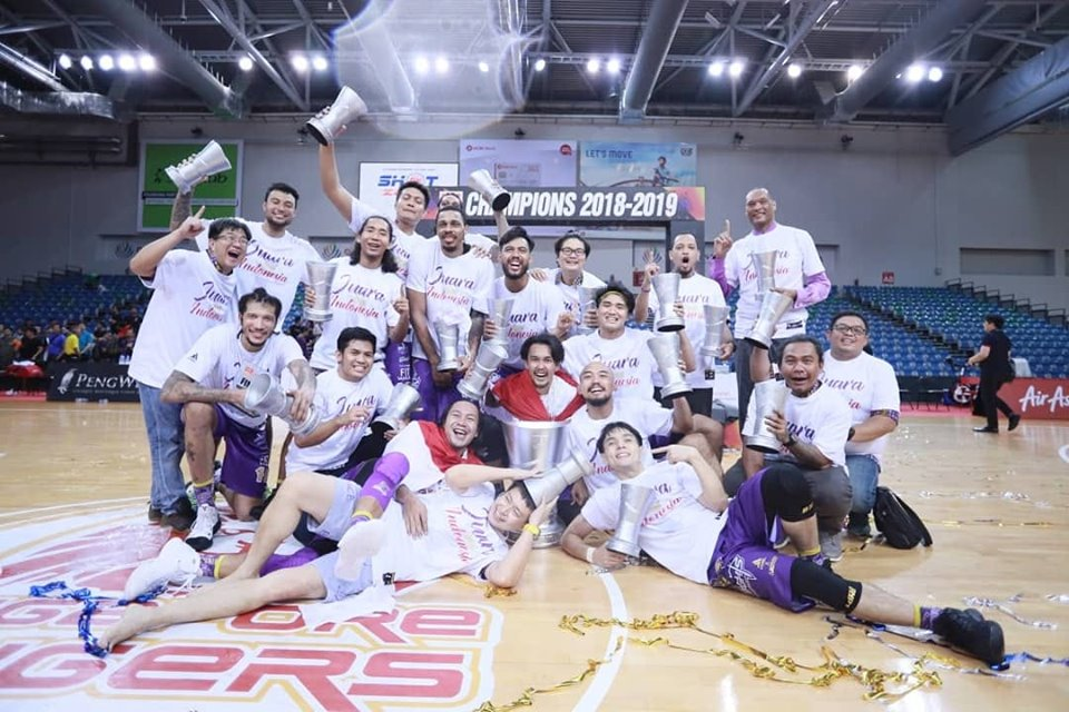 BTN CLS Knights Indonesia Ukir Juara ABL 2018-2019