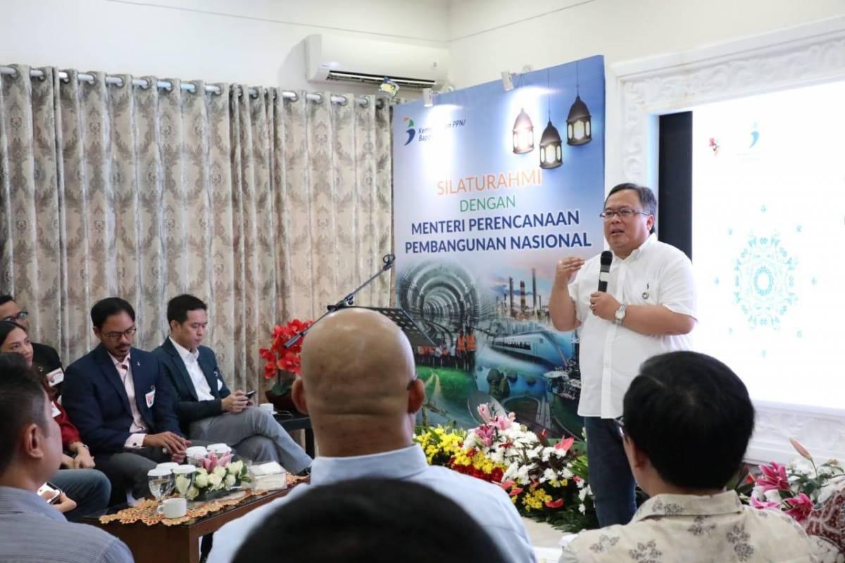 Kepala Bappenas Bambang Brodjonegoro Minta Masukan Para Pendiri Startup Soal Visi Indonesia Emas 2045