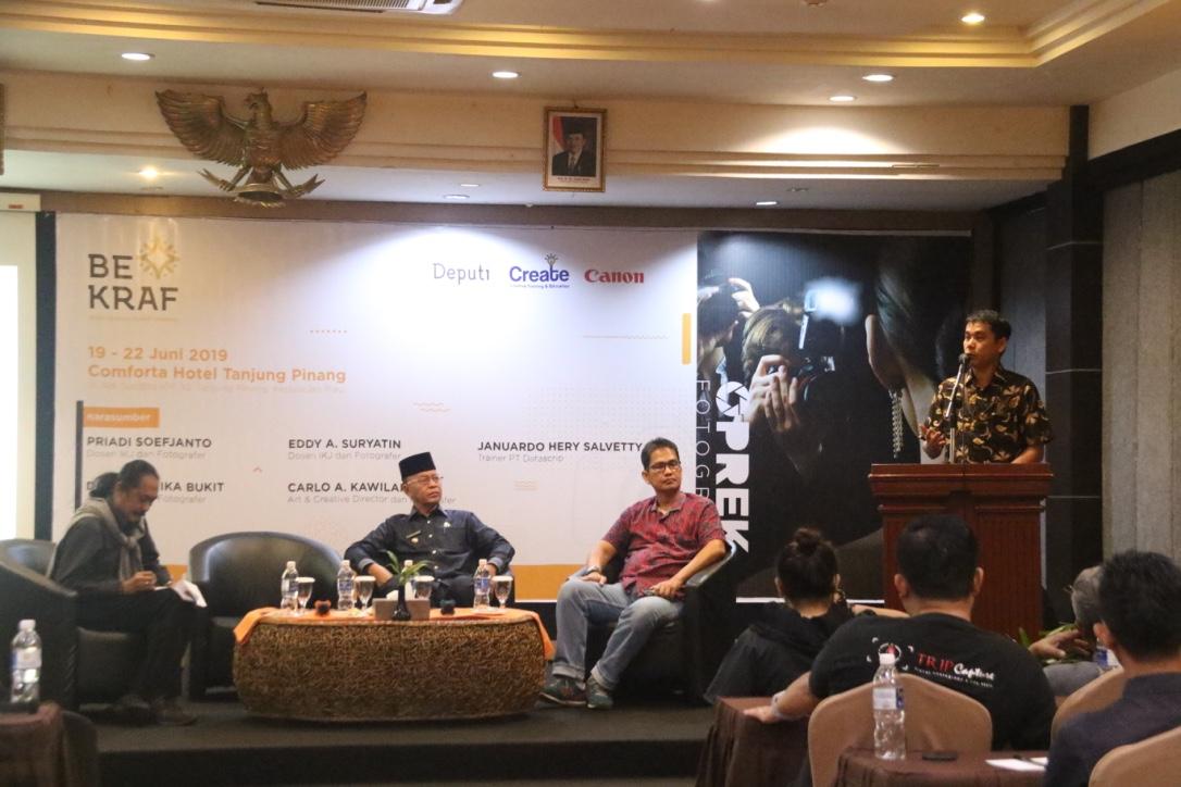 OPREK 2019 di Tanjung Pinang Diharapkan Berperan Penting dalam Pengembangan Ekonomi Kreatif