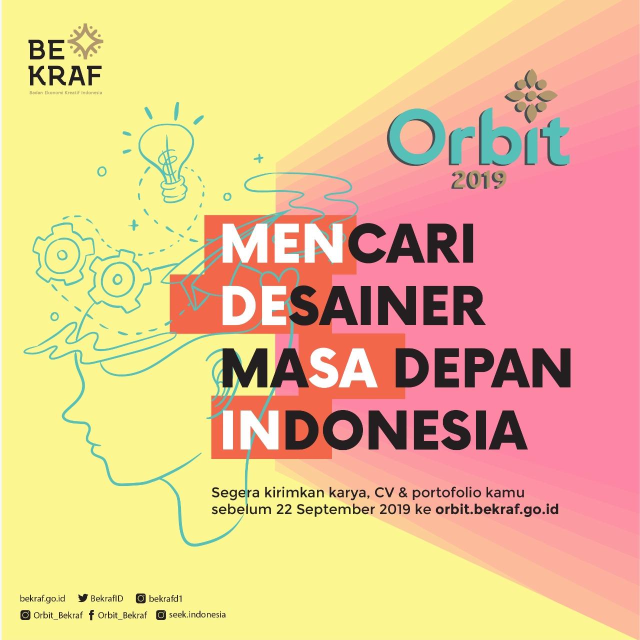 Dicari Desainer Masa Depan Indonesia