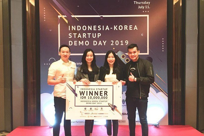 Startup MHomecare Juara Indonesia-Korea Startup Demoday 2019
