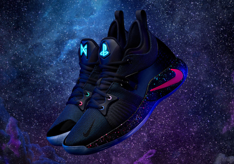 Paul George dan PlayStation Perkenalkan Sepatu Nike PG-2 PlayStation Colorway