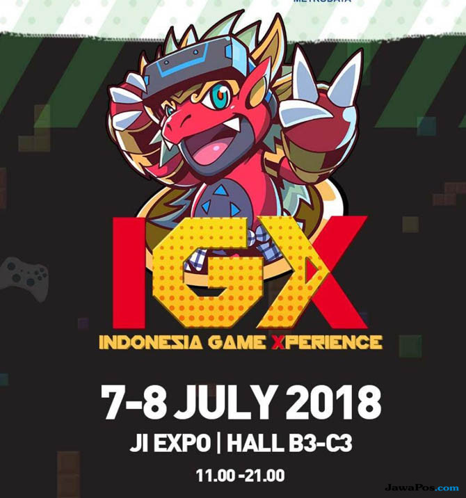 Indonesia Game Xperience Bakal Digelar
