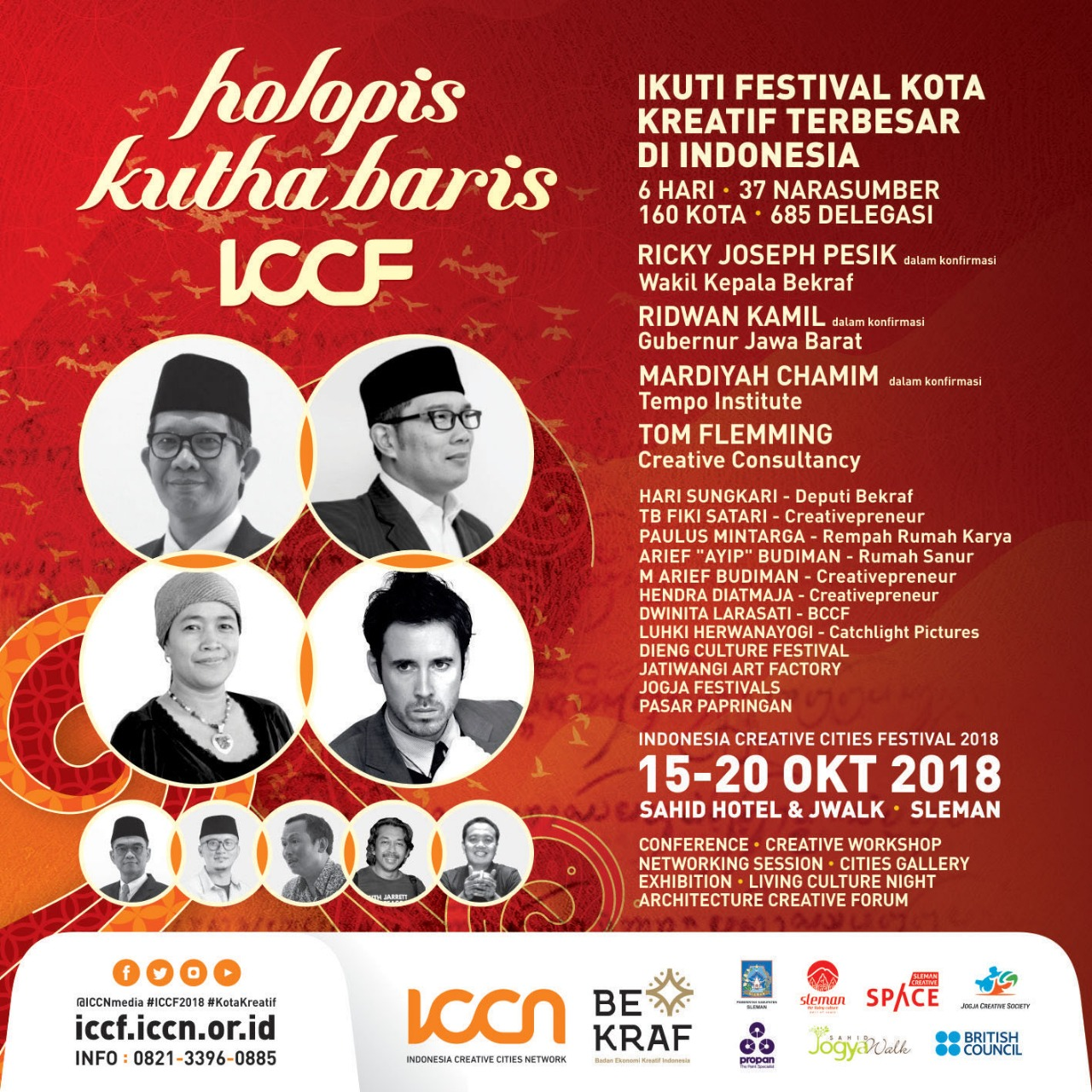 Indonesia Creative Cities Festival 2018 Digelar di Sleman