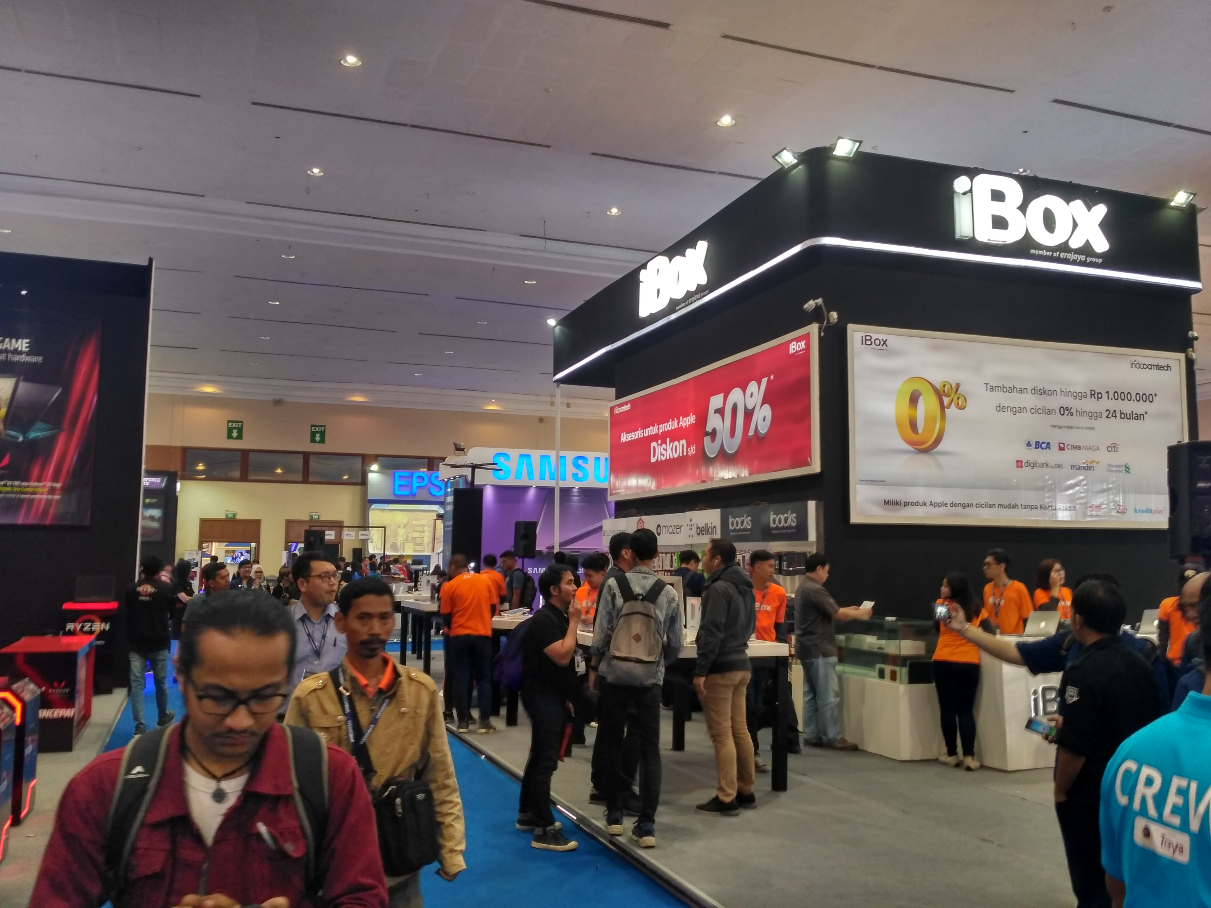 """Indocomtech 2018 """"Technology for Everyone"""""""