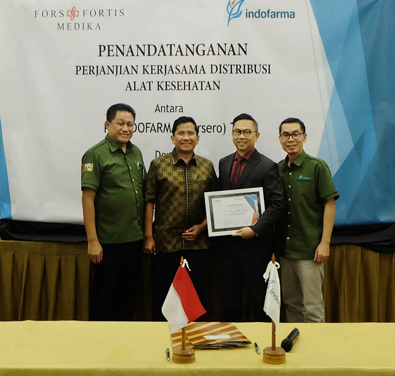 FF Group Distributor Tunggal Indofarma Tbk
