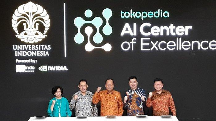 Tokopedia-UI Luncurkan Artificial Intelligence Center of Excellence Pertama di Indonesia