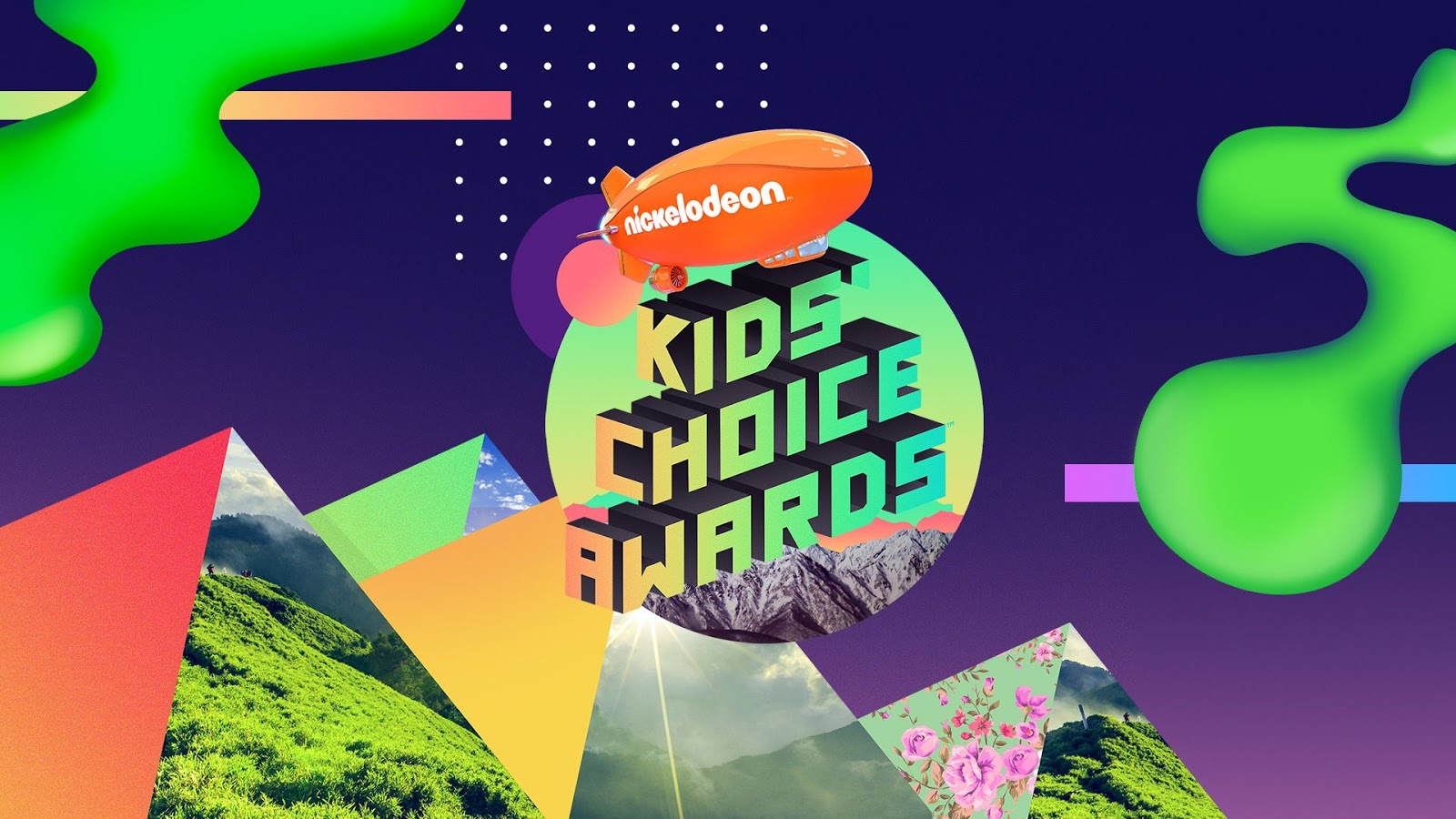 Ekspresi Pemenang Nickelodeon Kid's Choice Awards Saat Disiram Slime Hijau