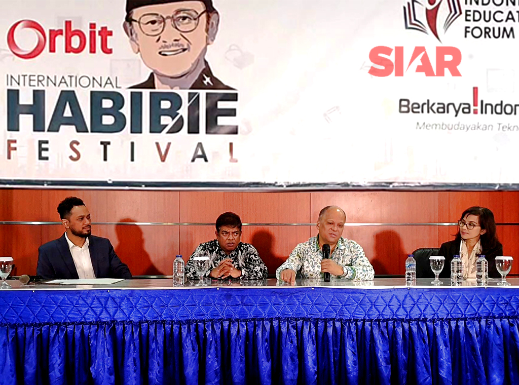 Habibie Festival Ke-7 Tetap Fokus pada The Future of Learning, Work, Play and Living