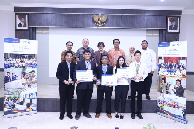 Tim Amethyst Juara Nasional ASEAN Data Science Explorers 2019